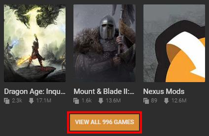 nexus mods register