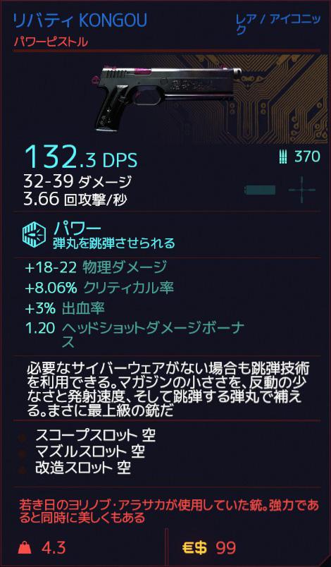 Cyberpunk 2077 KONGOU