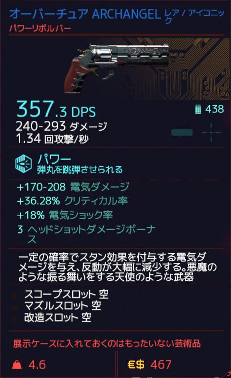 Cyberpunk 2077 ARCHANGE