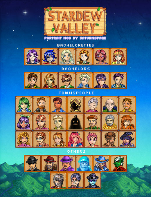 1_Saturnspace's-All-Villagers-Portraits-Mod